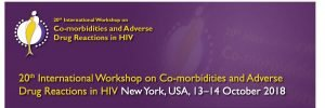 International Workshop on Co-morbidities ans Adverse drug reaction in HIV @ New York, USA